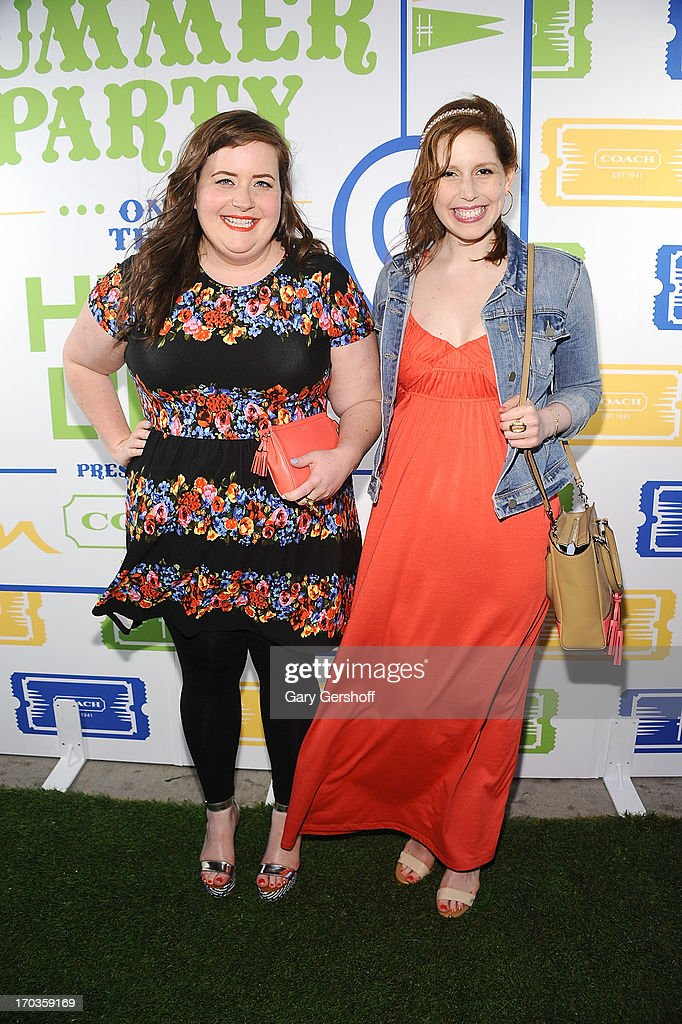 Actors Aidy Bryant (L) and <a gi-track='captionPersonalityLinkClicked' href=/galleries/search?phrase=Vanessa+Bayer&family=editorial&specificpeople=7346101 ng-click='$event.stopPropagation()'>Vanessa Bayer</a> attend the 3rd Annual Summer Party On The Highline on June 11, 2013 in New York City.