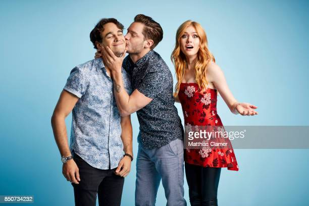 Actors Alberto Rosende Dominic Sherwood and Katherine McNamara from Shadowhunters are photographed for Entertainment Weekly Magazine on July 20 2017...