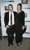 Actors Alessandro Nivola and Emily Mortimer attend a screening of 'The Red Shoes' at the Directors Guild of America Theater on November 3 2009 in New...