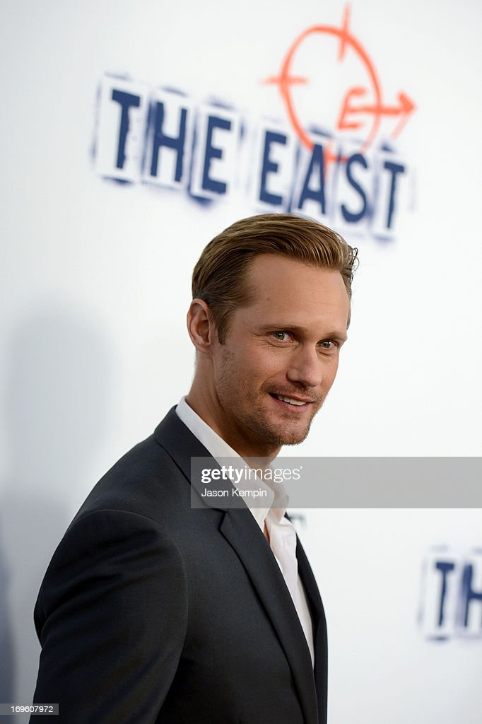 Actors Alexander Skarsgard arrives at the premiere of Fox Searchlight Pictures' 'The East' presented by Piaget at ArcLight Hollywood on May 28, 2013 in Hollywood, California.