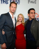 Actors Alexander Skarsgard Patricia Clarkson and Writer/Director Zal Batmanglij arrive at the premiere of Fox Searchlight Pictures' 'The East'...
