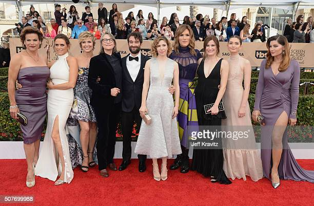 Actors Alexandra Billings Amy Landecker Melora Hardin Cherry Jones Jay Duplass Carrie Brownstein Our Lady J Kathryn Hahn Emily Robinson and Trace...