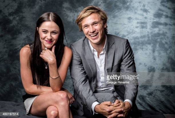 Actors Alexandra Park and William Moseley of The Royals poses for a portrait during CTV 2014 Upfront at Sony Centre for the Performing Arts on June 5...