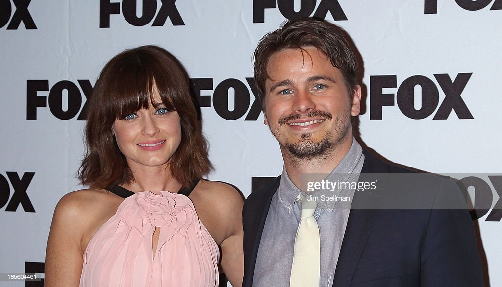 Actors <a gi-track='captionPersonalityLinkClicked' href=/galleries/search?phrase=Alexis+Bledel&family=editorial&specificpeople=206123 ng-click='$event.stopPropagation()'>Alexis Bledel</a> and <a gi-track='captionPersonalityLinkClicked' href=/galleries/search?phrase=Jason+Ritter&family=editorial&specificpeople=209201 ng-click='$event.stopPropagation()'>Jason Ritter</a> attend the 'Us And Them' series screening at SVA Theater on October 22, 2013 in New York City.
