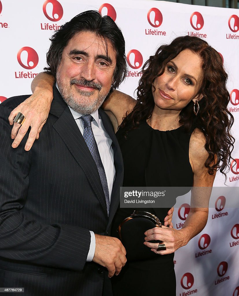 Actors <a gi-track='captionPersonalityLinkClicked' href=/galleries/search?phrase=Alfred+Molina&family=editorial&specificpeople=211218 ng-click='$event.stopPropagation()'>Alfred Molina</a> (L) and <a gi-track='captionPersonalityLinkClicked' href=/galleries/search?phrase=Minnie+Driver&family=editorial&specificpeople=201884 ng-click='$event.stopPropagation()'>Minnie Driver</a> attend the premiere of Lifetime Television's 'Return to Zero' at the Paramount Theater on the Paramount Studios lot on May 1, 2014 in Hollywood, California.