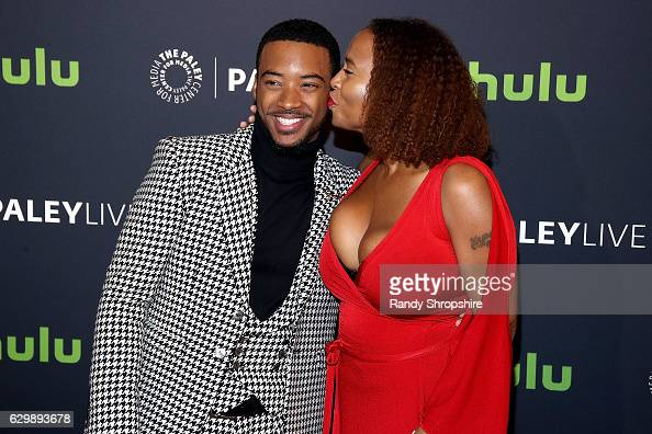 Actors algee smith and lisa nicole carson arrive to the premiere of