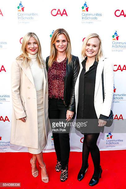 Actors Ali Larter Bonnie Somerville and Allison Pill attend the communities in schools of Los Angeles annual gala on May 24 2016 in Los Angeles...