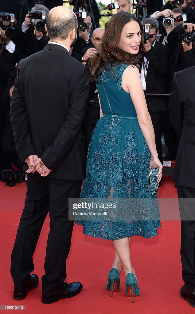 Actors Ali Mosaffa and Berenice Bejo attend the Premiere of 'Zulu' and the Closing Ceremony of The 66th Annual Cannes Film Festival at Palais des Festivals on May 26, 2013 in Cannes, France.