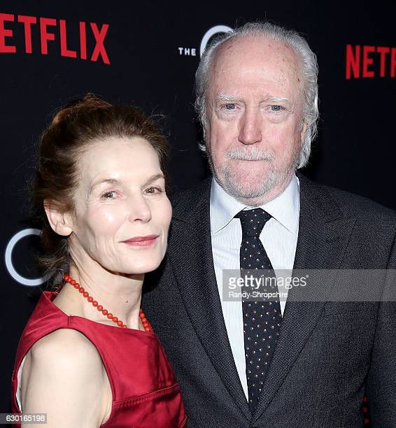 Actors Alice Krige and Scott Wilson arrive to the premiere of Netflix's 'The OA' at the Vista Theatre on December 15 2016 in Los Angeles California