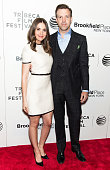 Actors Alison Brie and Jason Sudeikis attend the 2015 Tribeca Film Festival New York Premiere 'Sleeping With Other People' at BMCC Tribeca PAC on...