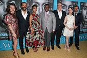 Actors Alison Wright Jeffery Wright Kerry Washington Wendell Pierce Eric Stonestreet Zoe ListerJones and Greg Kinnear attend the Los Angeles premiere...