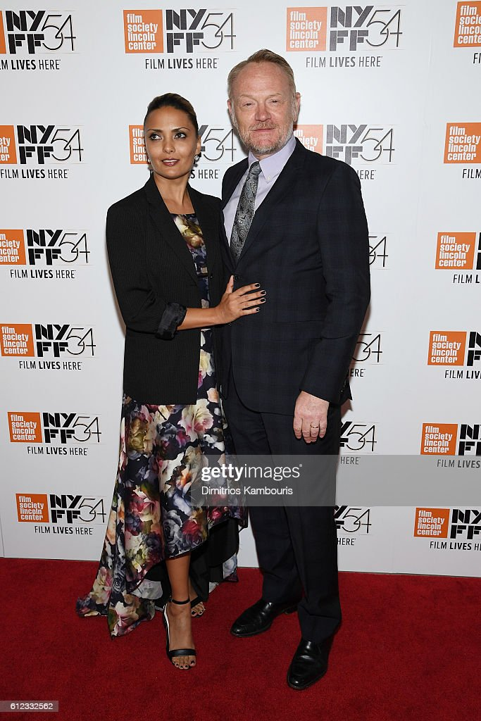 Actors Allegra Riggio and Jared Harris attend the 'Certain Women' premiere during the 54th New York Film Festival at Alice Tully Hall, Lincoln Center on October 3, 2016 in New York City.