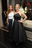 Actors Alysia Reiner and Anna Gunn attend the after party for Sony Pictures Classics' 'Equity' screening hosted by The Cinema Society with Bloomberg...