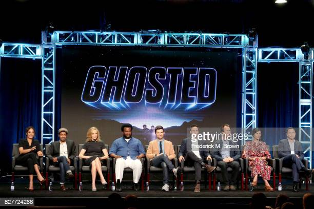 Actors Amber Stevens West Adeel Akhtar and Ally Walker Executive producers/actors Craig Robinson and Adam Scott Creator/Writer/Executive Producer Tom...