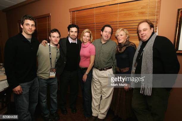 Actors ames Marsde director Chris Terrio Jesse Bradford Elizabeth Banks Sony Pictures Classics CoPresident Michael Barker Glenn Close and producer...