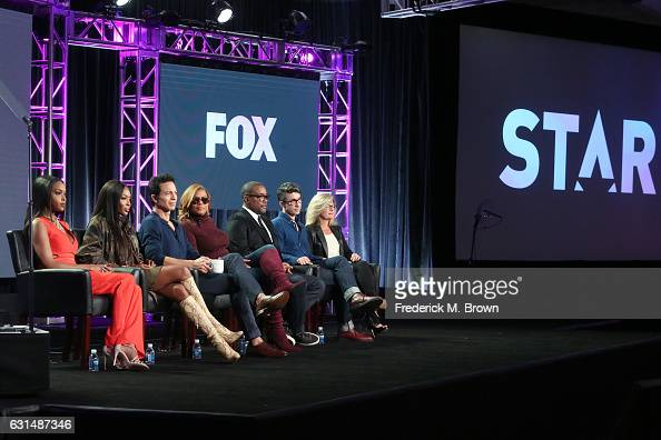 Actors Amiyah Scott Naomi Campbell Benjamin Bratt and Queen Latifah Cocreators/Cowriters/Executive producers Lee Daniels and Tom Donaghy and...
