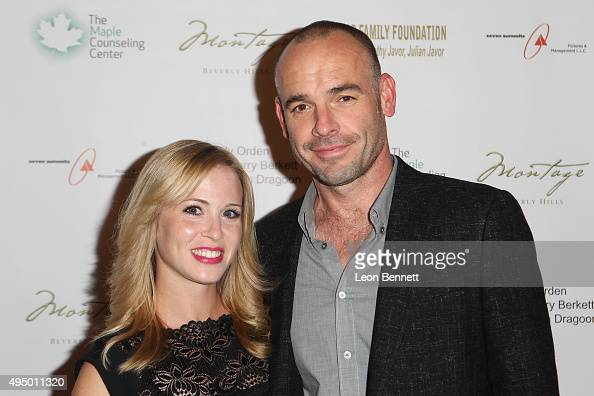 Actors Amy Gumenick and Paul Blackthorne attended The Maple Counseling Center's Shining Light On Mental Health Gala at Montage Beverly Hills on...