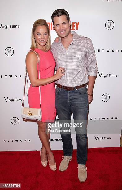 Actors Amy Paffrath and Drew Seeley attend the 'I Am Chris Farley' Los Angeles Premiere at Linwood Dunn Theater at the Pickford Center for Motion...