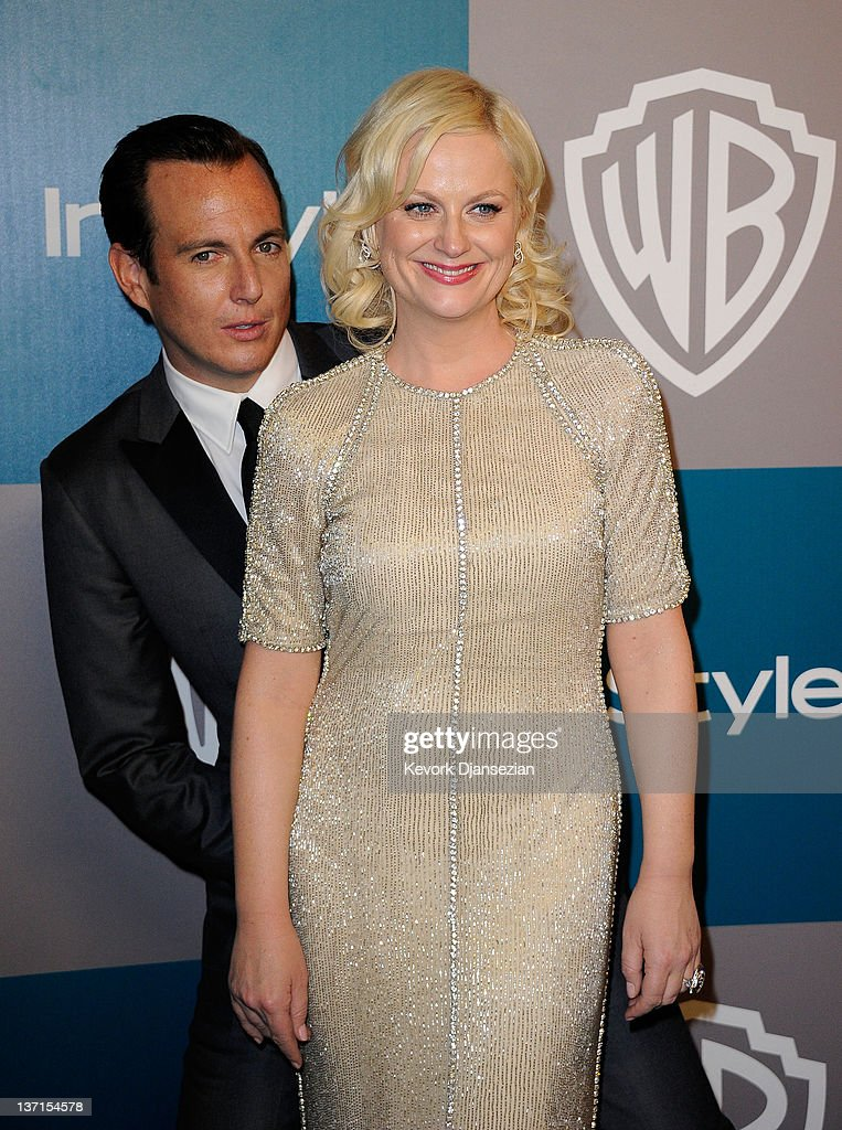 Actors Amy Poehler and Will Arnett arrive at 13th Annual Warner Bros And InStyle Golden Globe Awards After Party at The Beverly Hilton hotel on...