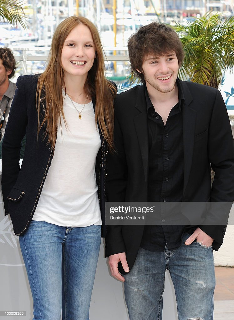 Actors Ana Girardot and Laurent Delbecque attend the 'Lights Out' Photo Call held at the Palais des Festivals during the 63rd Annual International Cannes Film Festival on May 20, 2010 in Cannes, France.