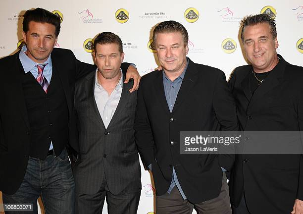 Actors and brothers William Baldwin Stephen Baldwin Alec Baldwin and Daniel Baldwin attend the US launch event for Lotus New Era on November 12 2010...