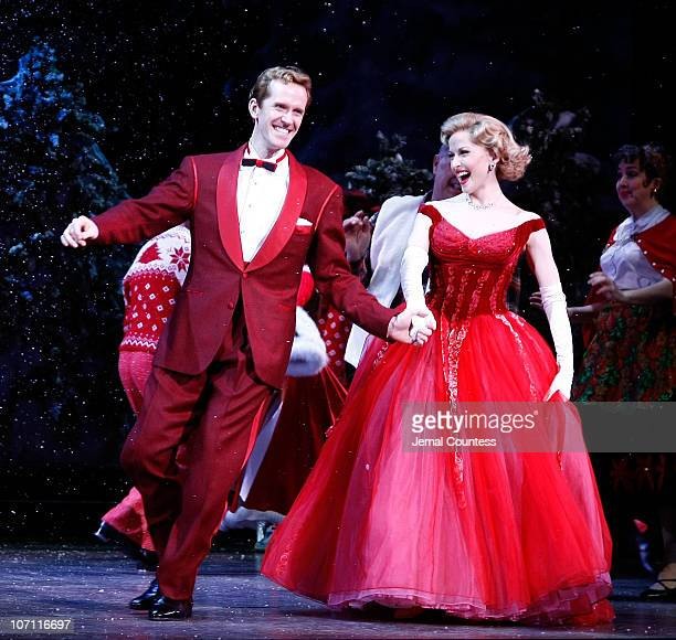 irving berlins white christmas broadway opening night arrivals and curtain call - Actors In White Christmas