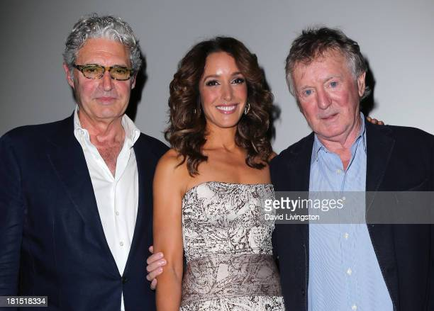 Actors and stars of the film Michael Nouri and Jennifer Beals and film's director Adrian Lyne attend a 'Flashdance' 30th anniversary screening at the...
