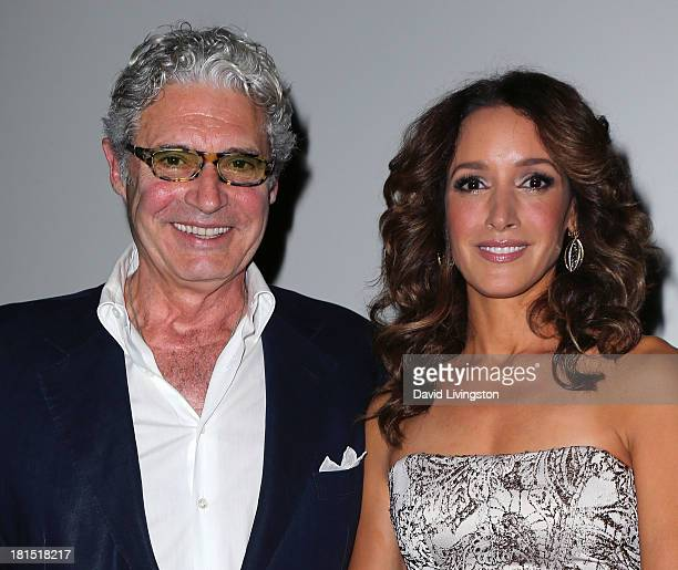 Actors and stars of the film Michael Nouri and Jennifer Beals attend a 'Flashdance' 30th anniversary screening at the Aero Theatre on September 21...