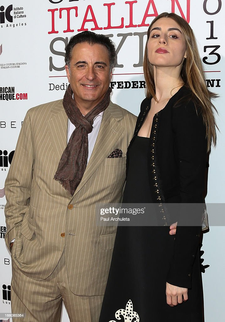 Actors <a gi-track='captionPersonalityLinkClicked' href=/galleries/search?phrase=Andy+Garcia&family=editorial&specificpeople=156410 ng-click='$event.stopPropagation()'>Andy Garcia</a> (L) and Dominik Garcia- Lorido (R) attend the premiere of 'The Great Beauty' at the Cinema Italian Style 2013 Opening Night at the Egyptian Theatre on November 14, 2013 in Hollywood, California.
