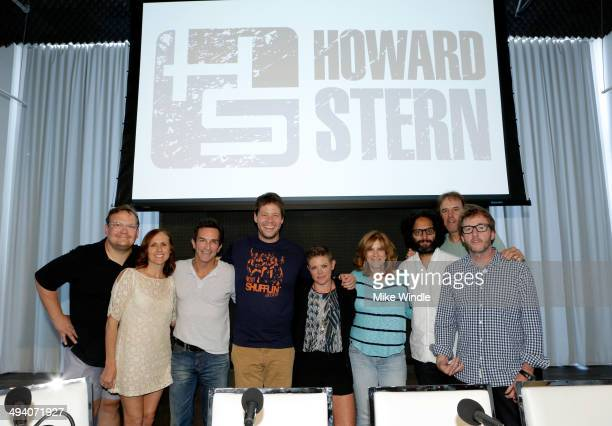 Actors Andy Richter Molly Shannon TV personality Jeff Probst actor Ike Barinholtz singer/songwriter Natalie Maines comedian Carol Leifer actors Jason...