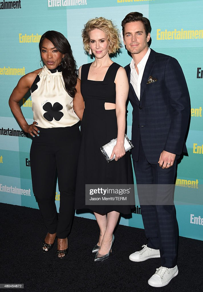 Actors Angela Bassett Sarah Paulson and Matt Bomer attend Entertainment Weekly's ComicCon 2015 Party sponsored by HBO Honda Bud Light Lime and Bud...