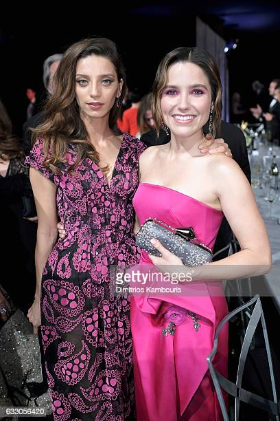 Actors Angela Sarafyan and Sophia Bush attend The 23rd Annual Screen Actors Guild Awards at The Shrine Auditorium on January 29 2017 in Los Angeles...