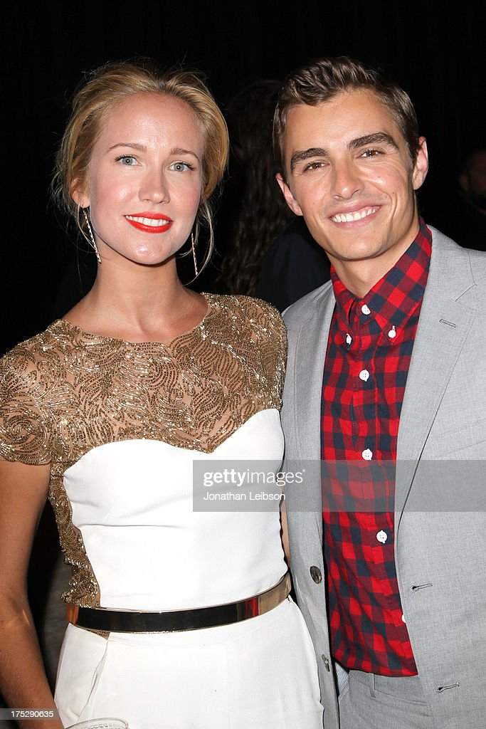 Actors Anna Camp (L) and Dave Franco attend CW Network's 2013 Young Hollywood Awards presented by Crest 3D White and SodaStream held at The Broad Stage on August 1, 2013 in Santa Monica, California.