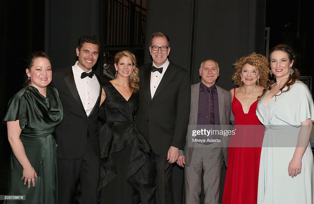 Actors Anna Christy, Elliot Madore, <a gi-track='captionPersonalityLinkClicked' href=/galleries/search?phrase=Kelli+O%27Hara+-+Actress&family=editorial&specificpeople=225013 ng-click='$event.stopPropagation()'>Kelli O'Hara</a>, director Ted Sperling, choreographer Doug Varone and actress <a gi-track='captionPersonalityLinkClicked' href=/galleries/search?phrase=Victoria+Clark+-+Actress&family=editorial&specificpeople=586080 ng-click='$event.stopPropagation()'>Victoria Clark</a> attend the Master Voices 2016 Spring Benefit and Concert on April 28, 2016 in New York, New York.