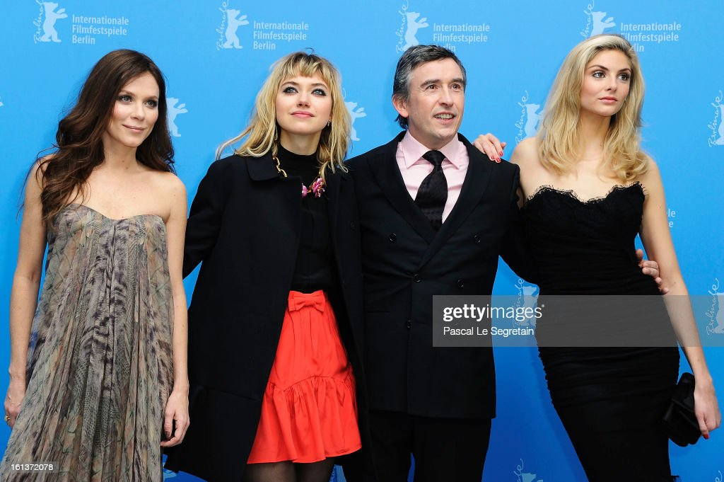 Actors <a gi-track='captionPersonalityLinkClicked' href=/galleries/search?phrase=Anna+Friel&family=editorial&specificpeople=202225 ng-click='$event.stopPropagation()'>Anna Friel</a>, <a gi-track='captionPersonalityLinkClicked' href=/galleries/search?phrase=Imogen+Poots&family=editorial&specificpeople=4265532 ng-click='$event.stopPropagation()'>Imogen Poots</a>, <a gi-track='captionPersonalityLinkClicked' href=/galleries/search?phrase=Steve+Coogan&family=editorial&specificpeople=204648 ng-click='$event.stopPropagation()'>Steve Coogan</a> and <a gi-track='captionPersonalityLinkClicked' href=/galleries/search?phrase=Tamsin+Egerton&family=editorial&specificpeople=2118936 ng-click='$event.stopPropagation()'>Tamsin Egerton</a> attend 'The Look Of Love' Photocall during the 63rd Berlinale International Film Festival at Grand Hyatt Hotel on February 10, 2013 in Berlin, Germany.