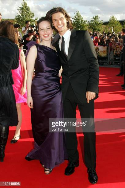 Actors Anna Popplewell and Ben Barnes arrives at the UK Premiere of The Chronicles of Narnia Prince Caspian at the O2 Dome in North Greenwich on June...