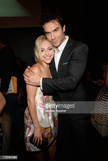 Actors AnnaSophia Robb and Ian Somerhalder attend CW Network's 2013 Young Hollywood Awards presented by Crest 3D White and SodaStream held at The...