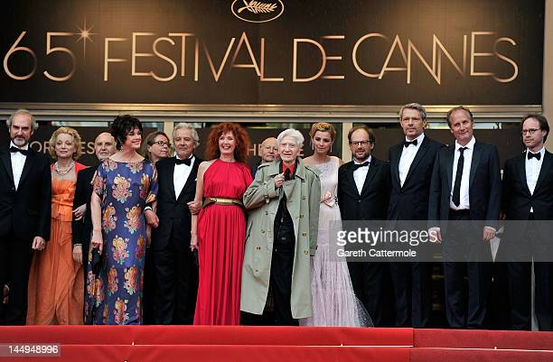 Actors Anne Duperey Pierre Arditi Sabine Azema director Alain Resnais Anne Consignyproducer Bruno Podalydes Lambert Wilson and Hippolyte Girardot...