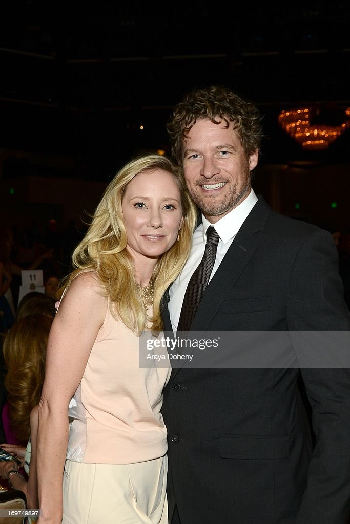 Actors <a gi-track='captionPersonalityLinkClicked' href=/galleries/search?phrase=Anne+Heche&family=editorial&specificpeople=202988 ng-click='$event.stopPropagation()'>Anne Heche</a> and <a gi-track='captionPersonalityLinkClicked' href=/galleries/search?phrase=James+Tupper&family=editorial&specificpeople=619618 ng-click='$event.stopPropagation()'>James Tupper</a> attend Step Up Women's Network 10th annual Inspiration Awards at The Beverly Hilton Hotel on May 31, 2013 in Beverly Hills, California.