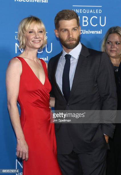 Actors Anne Heche and Mike Vogel attend the 2017 NBCUniversal Upfront at Radio City Music Hall on May 15 2017 in New York City