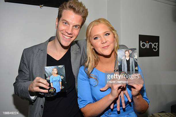 Actors Anthony Jeselnik and Amy Schumer attend Variety's 3rd annual Power of Comedy event presented by Bing benefiting the Noreen Fraser Foundation...