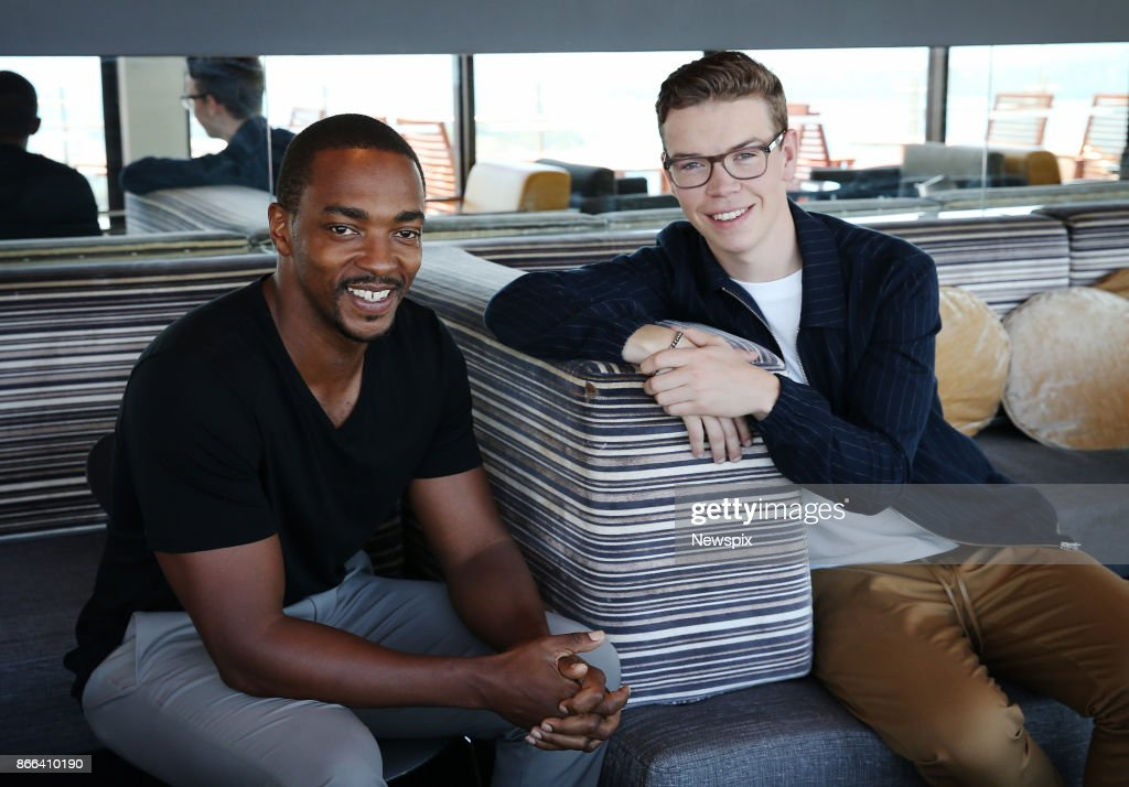 Anthony Mackie & Will Poulter Sydney Portrait Shoot