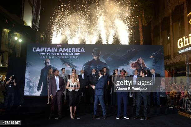Actors Anthony Mackie Scarlett Johansson Chris Evans Samuel L Jackson Sebastian Stan Emily VanCamp Frank Grillo Cobie Smulders Maximiliano Hernandez...