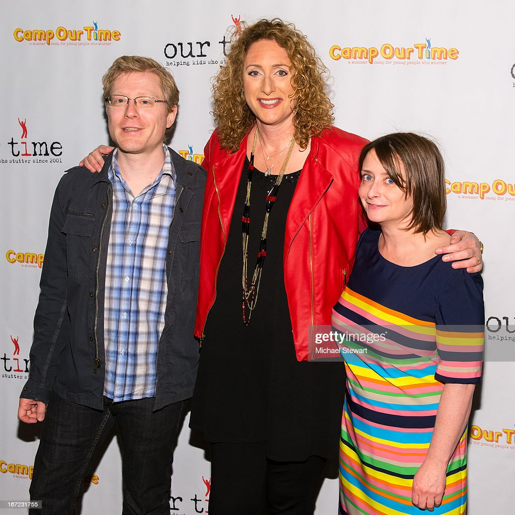 Actors <a gi-track='captionPersonalityLinkClicked' href=/galleries/search?phrase=Anthony+Rapp&family=editorial&specificpeople=584008 ng-click='$event.stopPropagation()'>Anthony Rapp</a>, <a gi-track='captionPersonalityLinkClicked' href=/galleries/search?phrase=Judy+Gold&family=editorial&specificpeople=217558 ng-click='$event.stopPropagation()'>Judy Gold</a> and <a gi-track='captionPersonalityLinkClicked' href=/galleries/search?phrase=Rachel+Dratch&family=editorial&specificpeople=209387 ng-click='$event.stopPropagation()'>Rachel Dratch</a> attend Our Time's 11th Annual Benefit Gala at the Jack H. Skirball Center for the Performing Arts on April 22, 2013 in New York City.