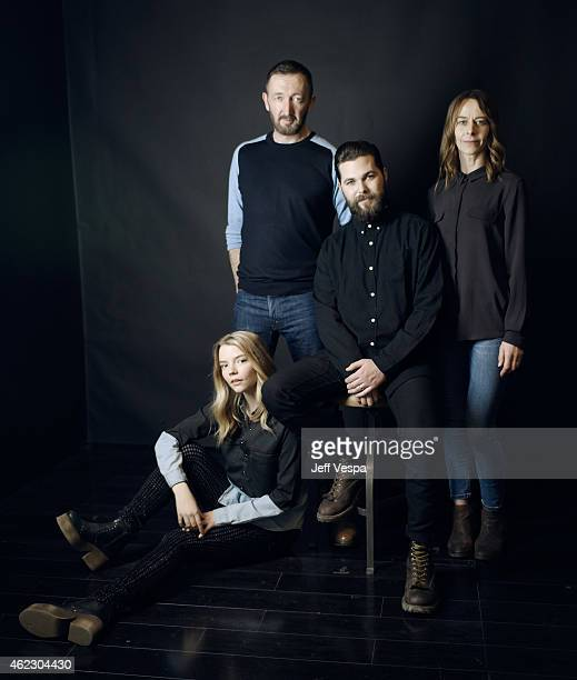 Actors Anya TaylorJoy Ralph Ineson director/writer Robert Eggers and actress Kate Dickie of 'The Witch' pose for a portrait at the Village at the...