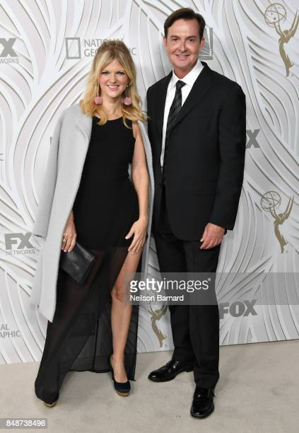 Actors Arden Myrin and David Williams attend FOX Broadcasting Company Twentieth Century Fox Television FX And National Geographic 69th Primetime Emmy...
