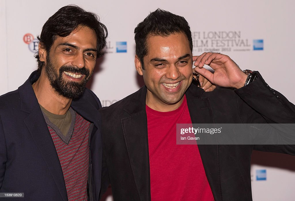 Actors <a gi-track='captionPersonalityLinkClicked' href=/galleries/search?phrase=Arjun+Rampal&family=editorial&specificpeople=684118 ng-click='$event.stopPropagation()'>Arjun Rampal</a> and <a gi-track='captionPersonalityLinkClicked' href=/galleries/search?phrase=Abhay+Deol&family=editorial&specificpeople=5377911 ng-click='$event.stopPropagation()'>Abhay Deol</a> attend the 'Chakravyuh' photocall during the 56th BFI London Film Festival at the Empire Leicester Square on October 11, 2012 in London, England.