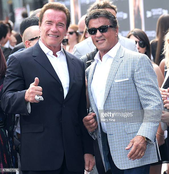 ¿Cuánto mide Arnold Schwarzenegger? - Real height Actors-arnold-schwarzenegger-and-sylvester-stallone-arrive-at-the-los-picture-id478927232?s=612x612