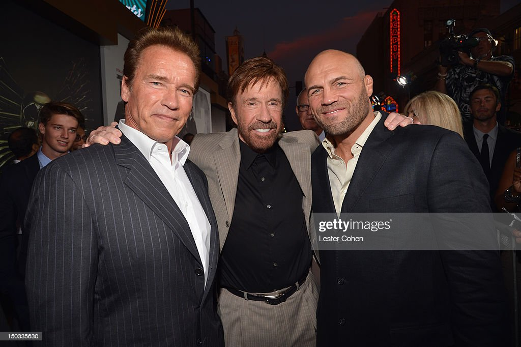 """""""The Expendables 2"""" - Los Angeles Premiere - Red Carpet"""