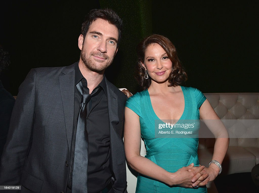 Actors Ashley Judd and Dylan McDermott attend the after party for the premiere of FilmDistrict's 'Olympus Has Fallen' at Lure on March 18, 2013 in Hollywood, California.